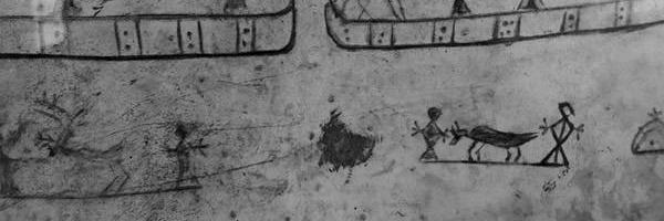 Symbole auf Rahmentrommel