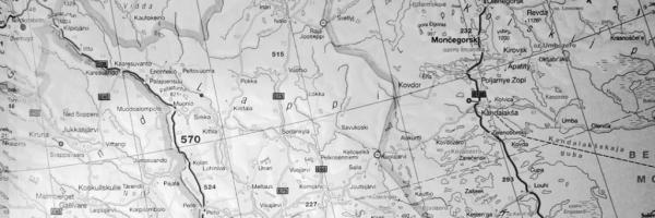 Karte Lappland